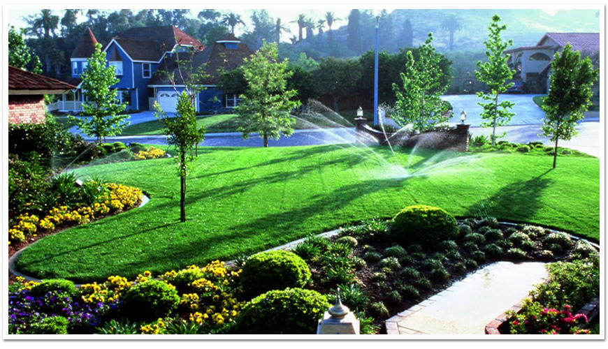Lawn Irrigation Service By Atlanta Ivy Green Lawn Care