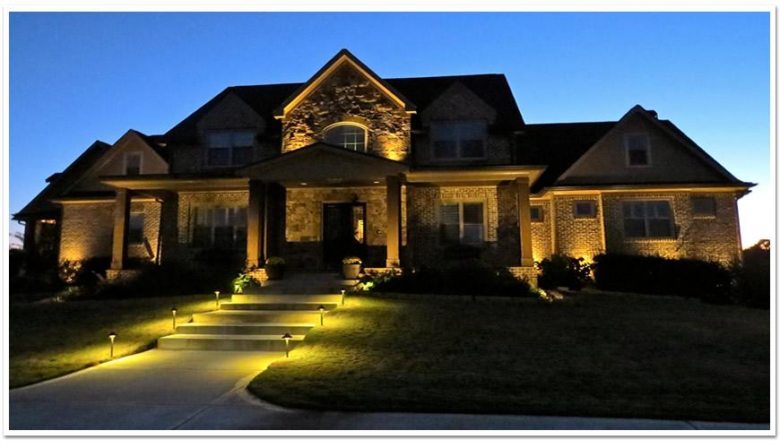 Elegant Residential Landscape Lighting